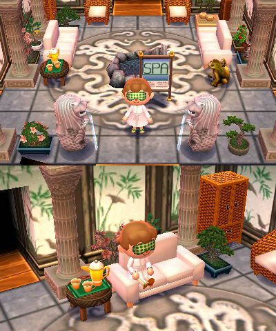 53 best images about animal crossing ideas on pinterest animal crossing room set and restaurant for Animal crossing happy home designer hotel