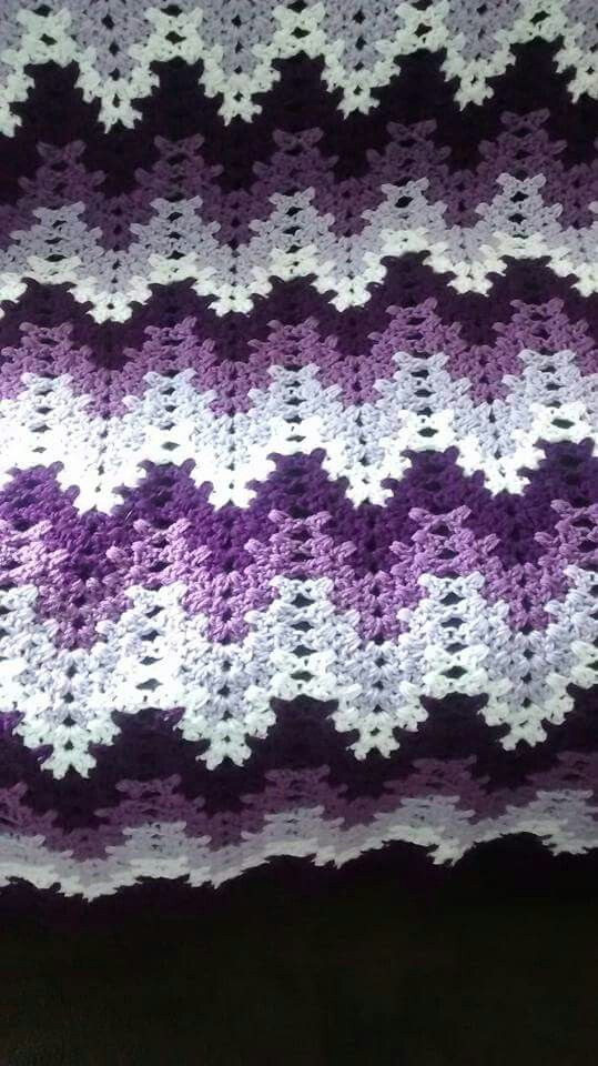 26 Best Images About Granny Ripple Afghan On Pinterest