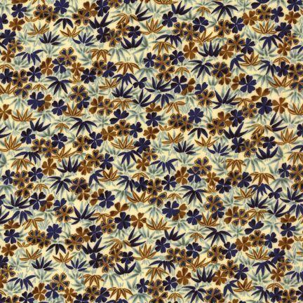 Robert Kaufman Fabrics: EV-2830-1 CREAM from Oriental Traditions Original Collection