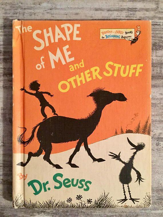 The Shape of Me and Other Stuff 1973 Vintage Dr. Seuss #Theshapeofmeandotherstuff #DrSeuss #Seuss #book #Vintagebook #Childrensbook #BrightandEarlyBooks #SeussBooks #Etsy #EtsyBooks