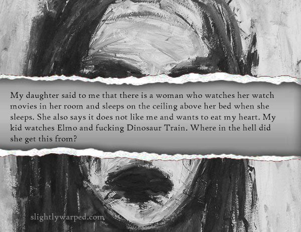 Creepy Things Kids Say | Scary Stuff | Pinterest | Creepy ...