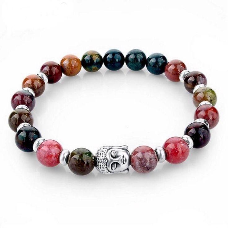 Rainbow Crystal Beaded Positive Energy Beaded Bracelet