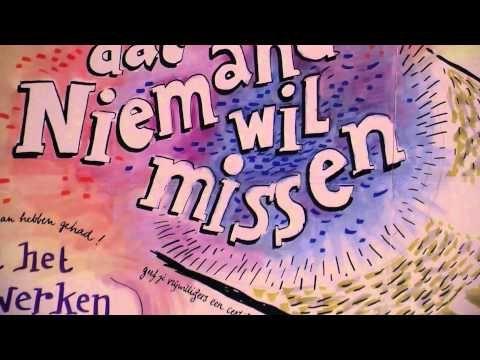 Wandverslag - kunstenaars leggen uw evenement vast in woord en beeld