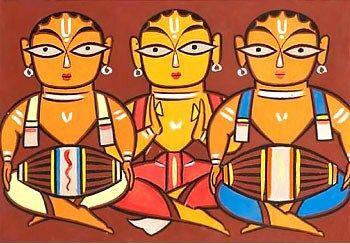 Jamini Roy Indian folk art