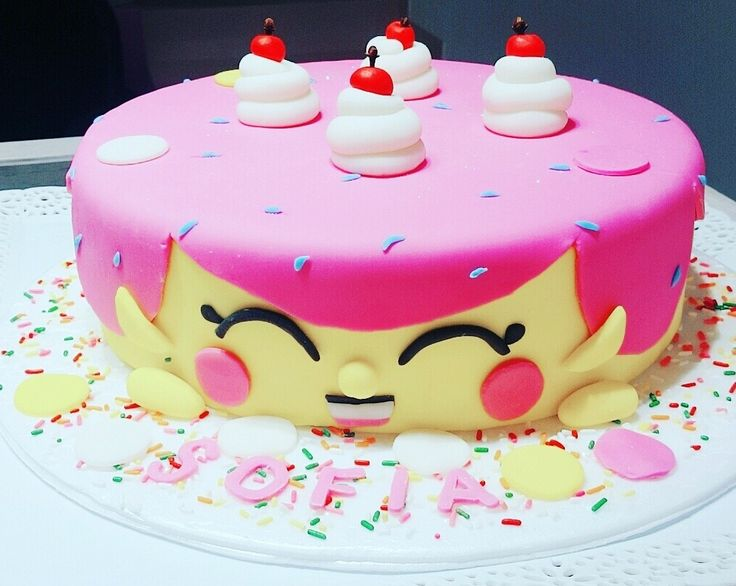 Torta shopkins by TRYS SyT