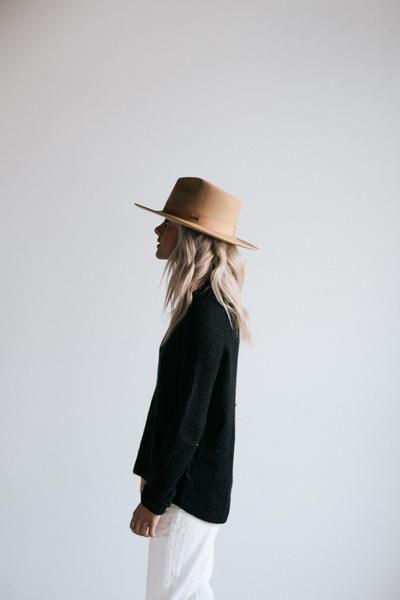 b9a69accf0b672 GIGI PIP Hats for Women- Monroe Brown - Women's Rancher Hat-Felt Hats Fall  Outfit