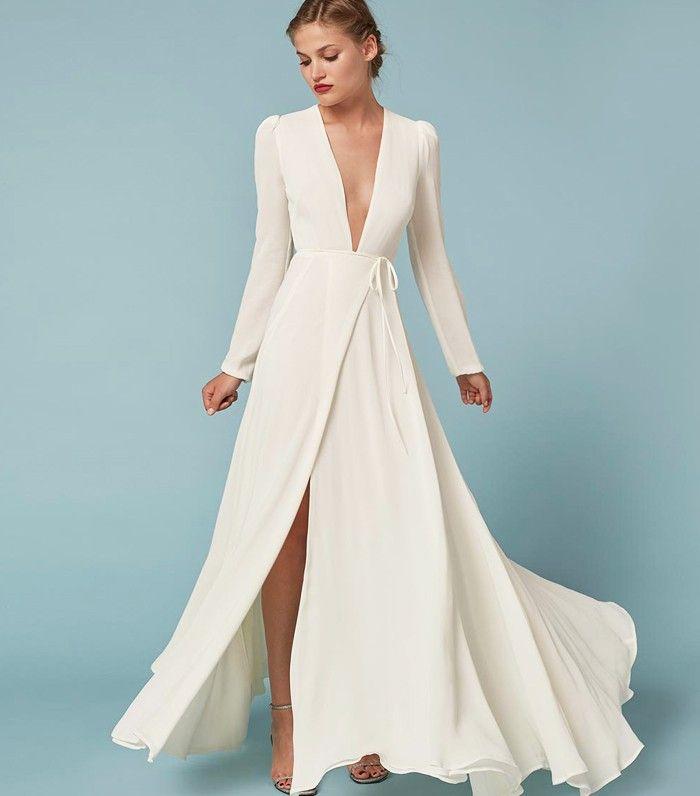High-Street Wedding Dresses Have Never Looked So Good via @WhoWhatWearUK