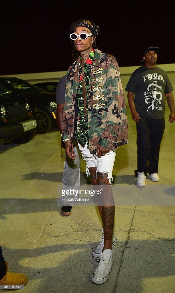 Fotografia De Noticias Wiz Khalifa Attends A Party At Compound On June Wiz Khalifa Khalifa Wiz