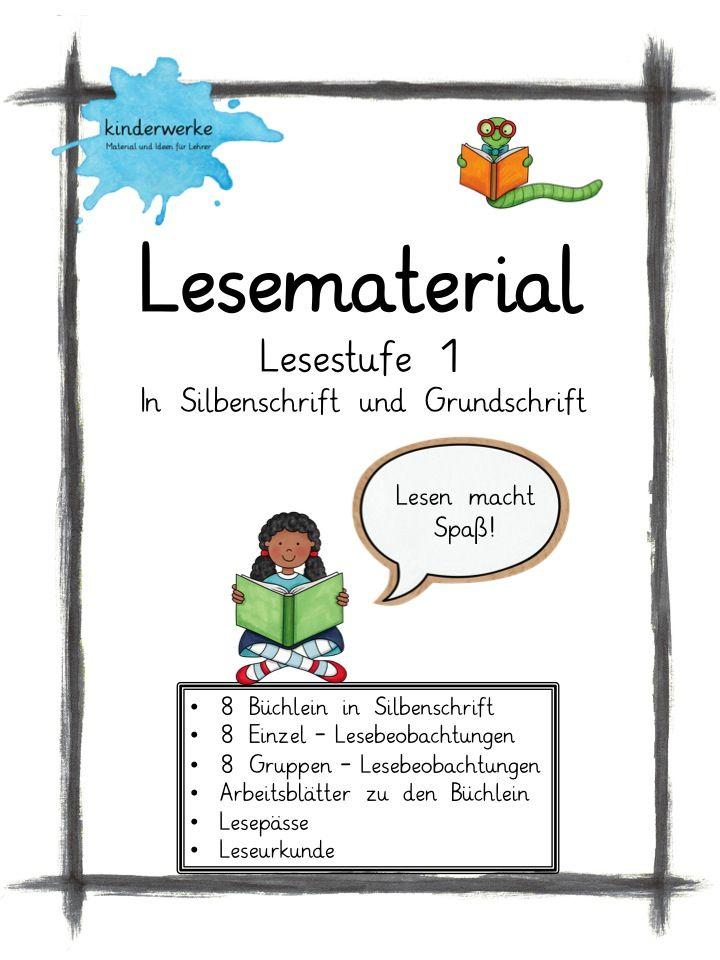 Acht Büchlein im Leselevel 1. super für Anfangsleser geeignet! Mit ...