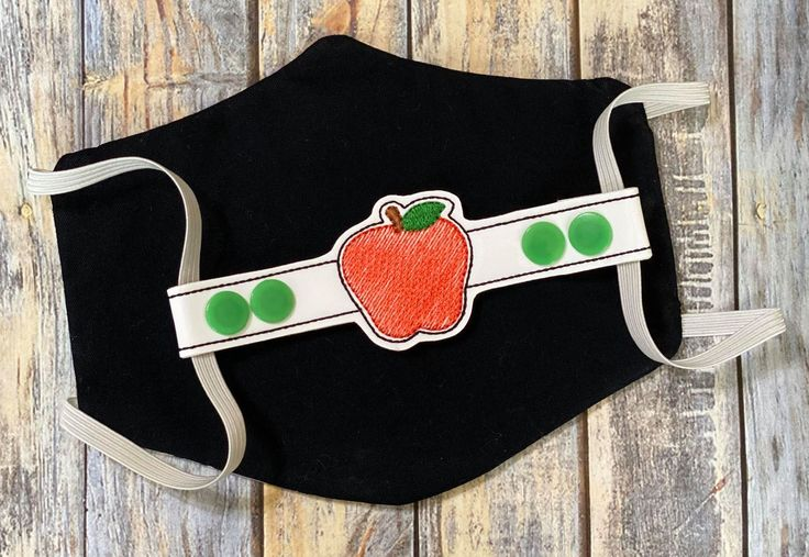 ITH Mask Extender Apple 2 sizes DIGITAL Embroidery