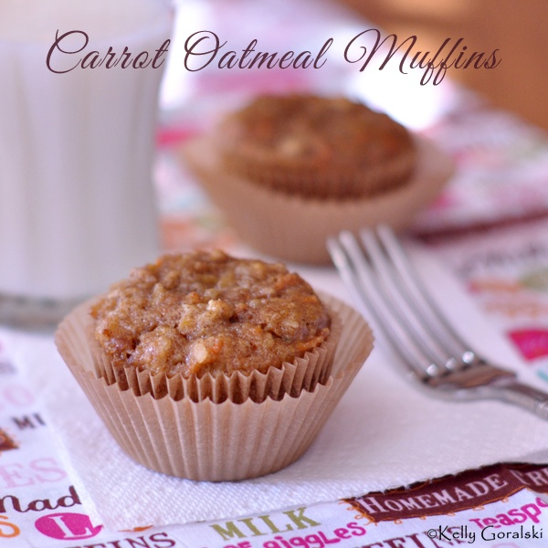 Carrot Oatmeal Muffins @Allrecipes.com.com carrot muffins breakfast