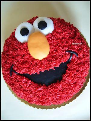 Słodki blog: Tort Elmo