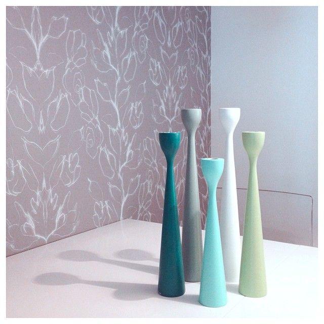 Spring color by freemover.se, original Rolf™ candlesticks. photo: evaarendal