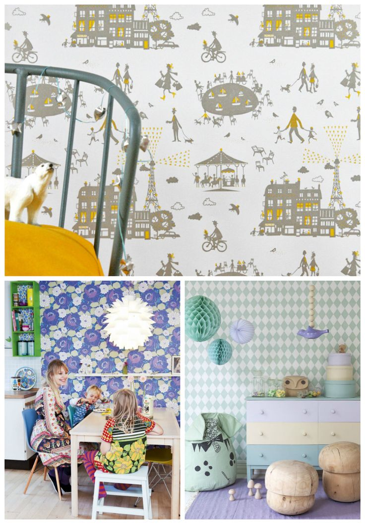 19 Clever Ways To Transform A Kid S Room With Wallpaper