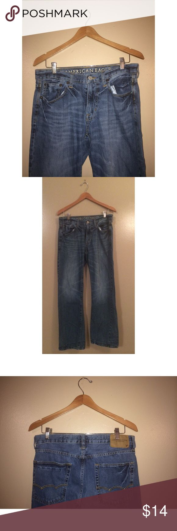 """American Eagle Bootcut Jeans for Men PRE-OWNED American Eagle """"Original Bootcut"""" Jeans for Men. Size 32/32, Great condition! American Eagle Outfitters Jeans Bootcut"""