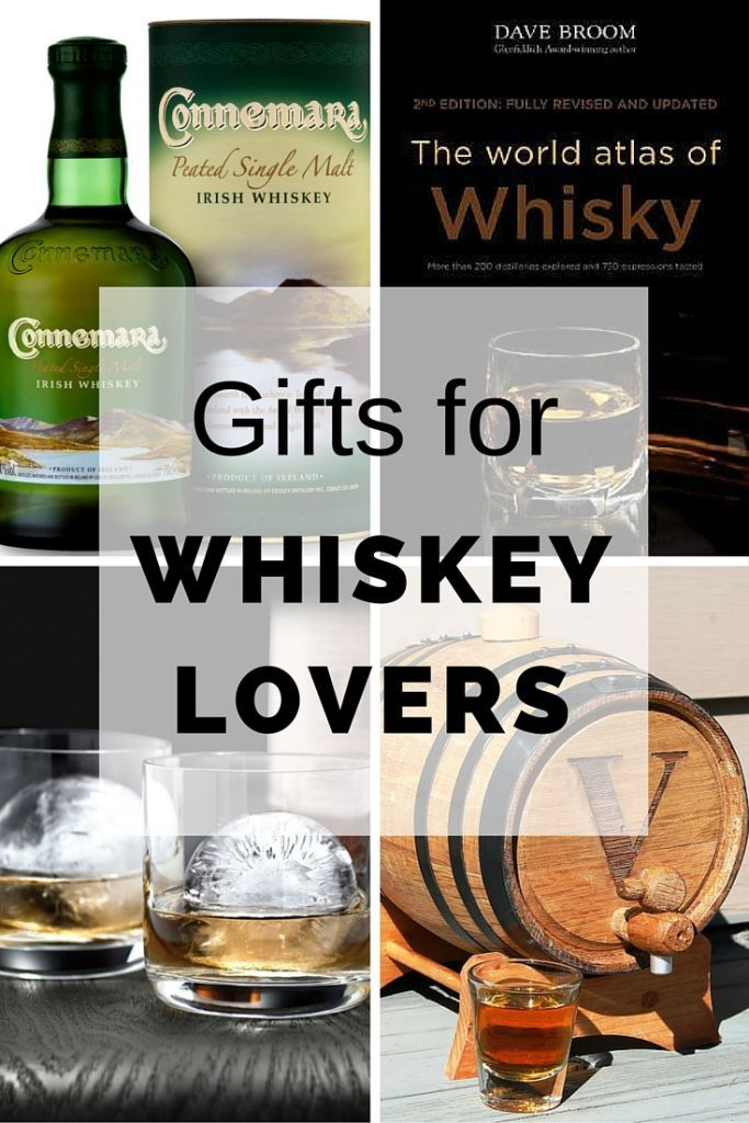 Gifts for whiskey lovers. Cool selection of unique gifts for whiskey lovers.