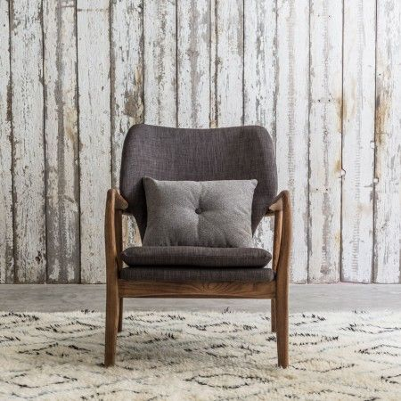 Odin Armchair In Two Tone Grey | Armchairs | Graham & Green
