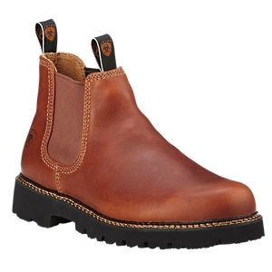 Ariat Spot Hog Pull-On Casual Boots for Men - Peanut - 10.5M