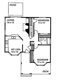 1000 Square Feet 2 Bedroom 1 Bathroom 0 Garage Modern 37934 further Fabcab 550 Sq Ft Prefab Timber Cabin as well 1800 Square Foot House Plans likewise Modern Traditional Tiny House Plans also 1000 Square Feet 2 Bedroom 1 Bathroom 0 Garage Modern 37934. on 500 square foot cottages
