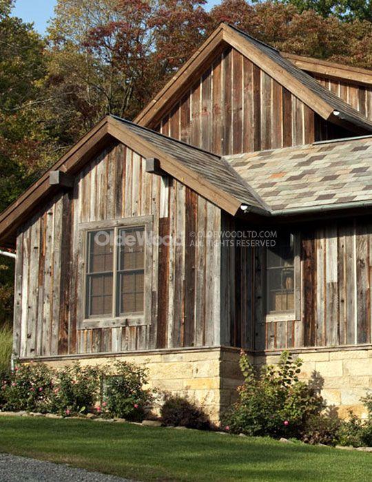 Reclaimed Wood Wall Treatments | How to Use Barn Siding | Olde Wood