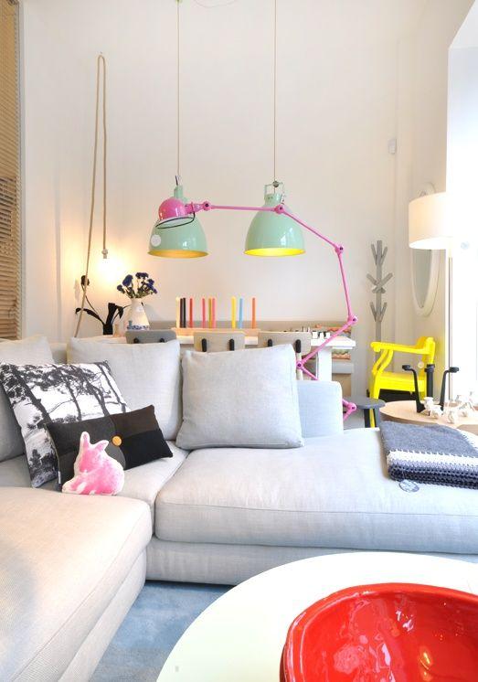 Inspira o d cor 43 salas de estar escandinavas modernas for Sala de estar para ninos