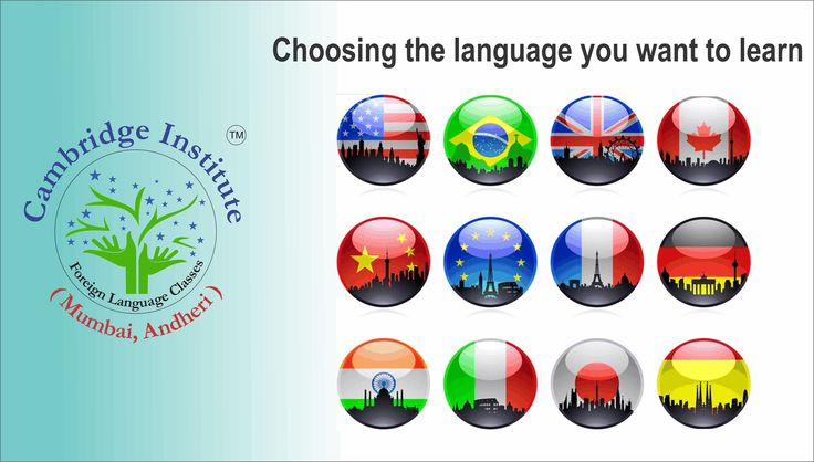 Choosing the language you want to learn