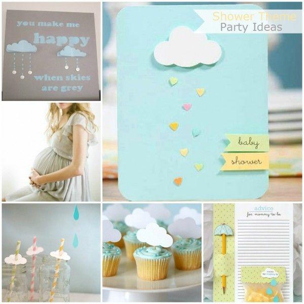 rain shower baby shower themes | BabyShowerIdeas1.InspiredByGiving