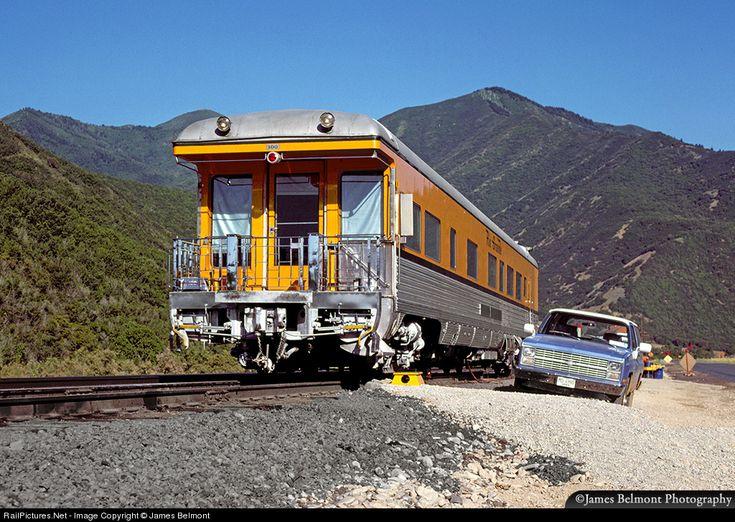 RailPictures.Net Photo: DRGW 100 Denver & Rio Grande Western Railroad D Business Car at Thistle, Utah by James Belmont