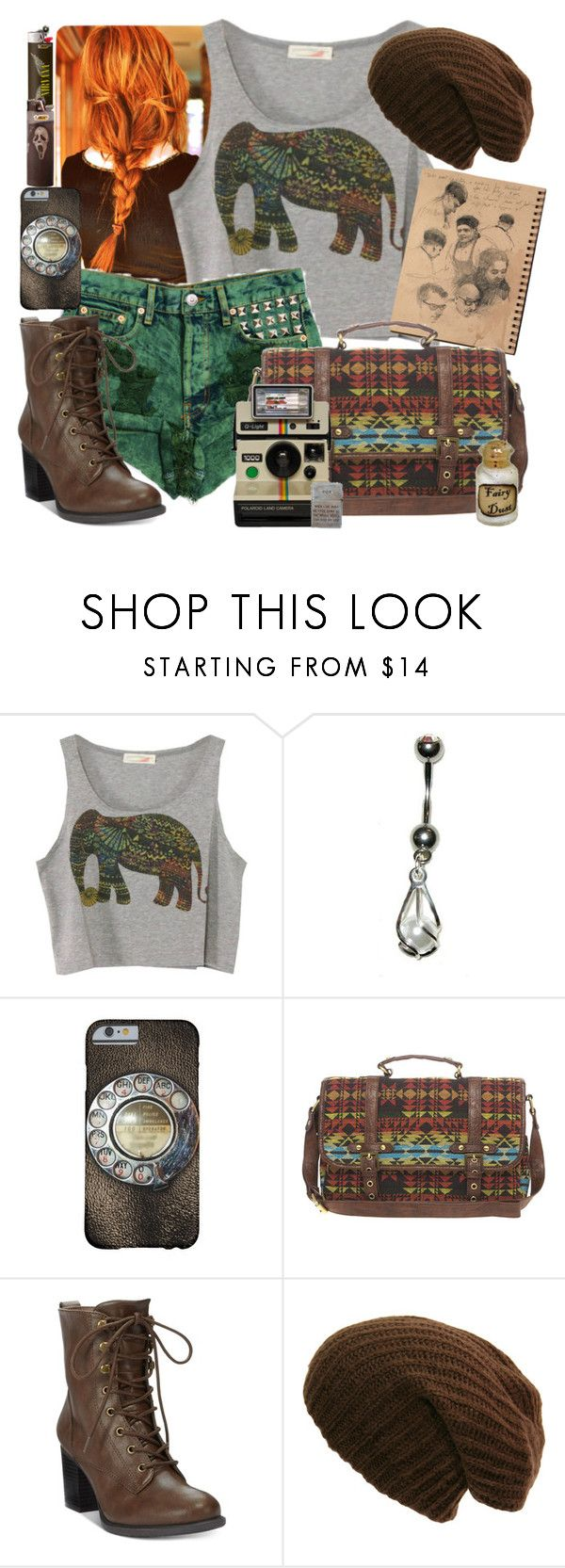 """Untitled #535"" by neverland-is-just-a-dream-away ❤ liked on Polyvore featuring ASOS, American Rag Cie and Dollhouse"