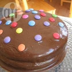 Hot Milk Chocolate Cake @ allrecipes.co.uk