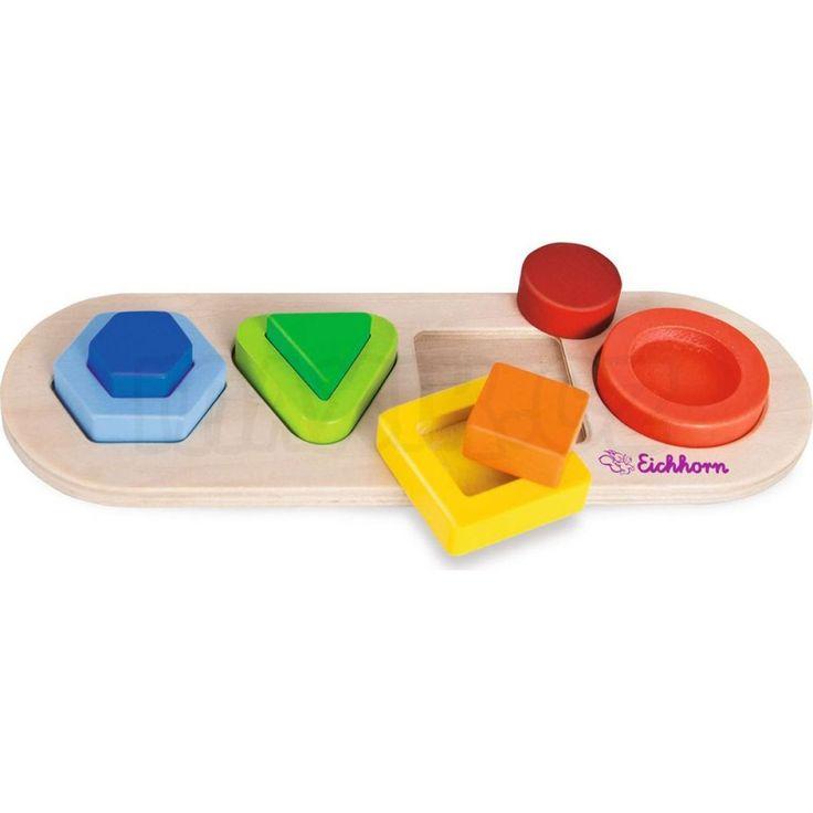 Eichhorn 3D puzzle zastrkávací tvary
