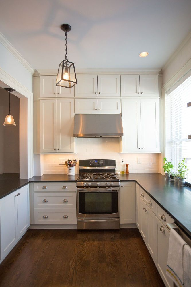 100 year old hoboken townhouse gets kitchen makeover for Townhouse kitchen ideas