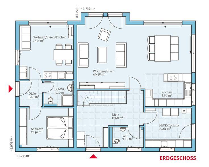 Die besten 25 haus mit einliegerwohnung ideen auf for Bauplan wohnhaus