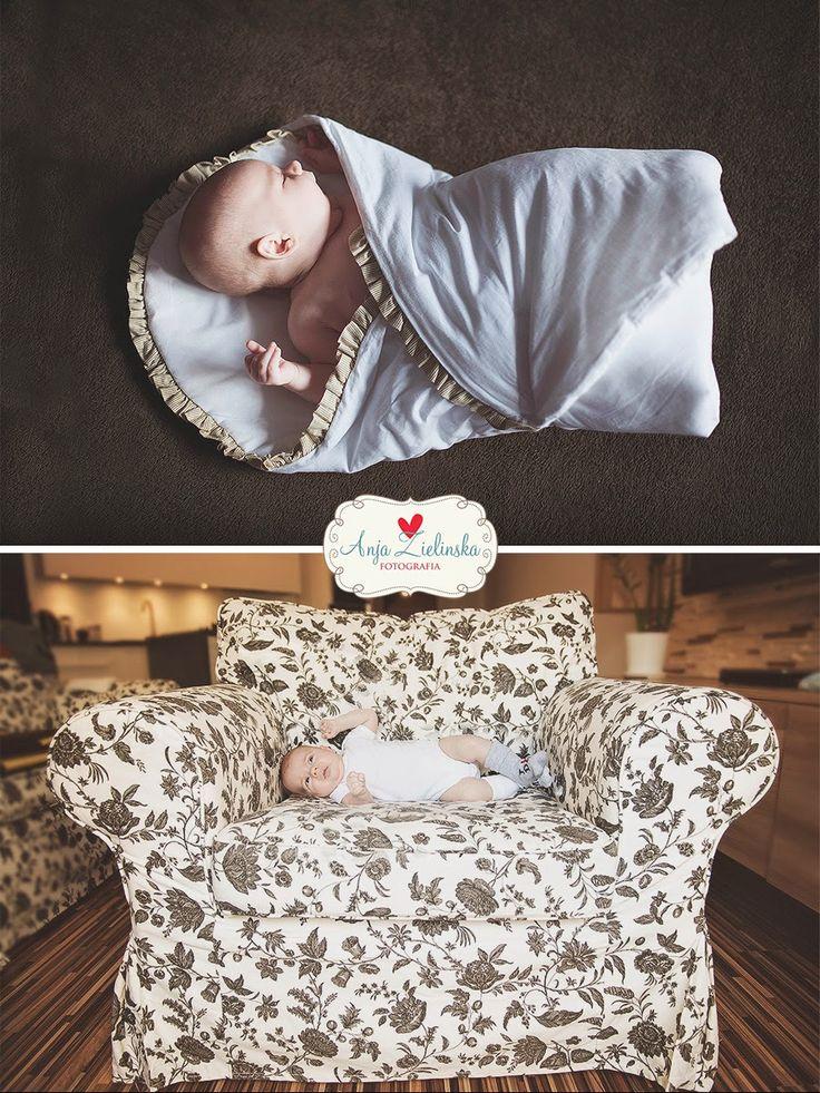 Anja Zielinska Fotografia: Sesja niemowlęca - Bruno