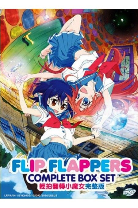Flip Flappers Vol.1-13End Anime DVD