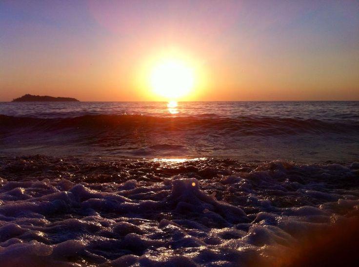 lesbos sunset