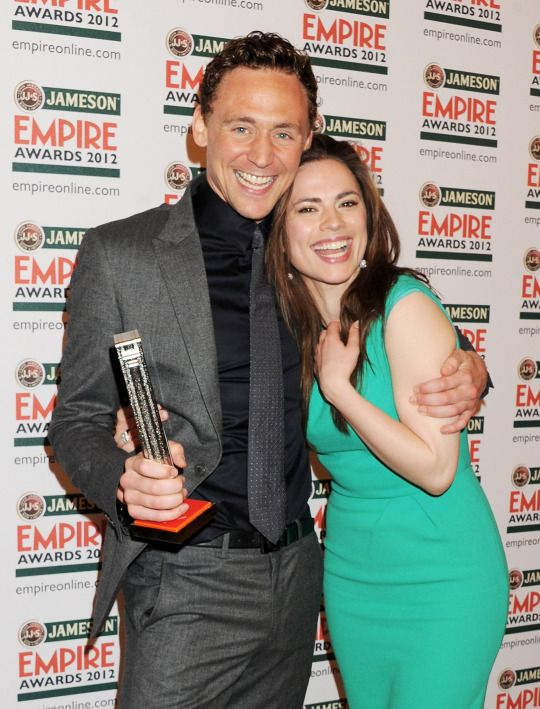 With Hayley Atwell at the Jameson Empire Awards 2012 // two of my FAVORITE celebrities!