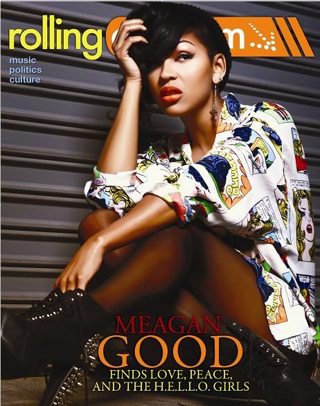 Meagan Good covers Rolling Out Mag!