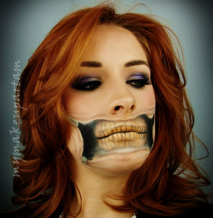 @mymakeupartam makeup make-up bodypainting paint