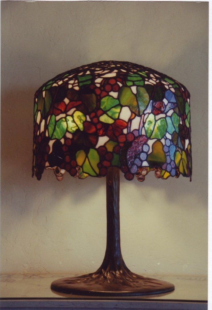 694 Best Lamps Stained Glass Images On Pinterest Vintage Lamps Tiffany Glass And Glass Lamps