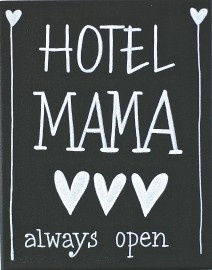 Kiz Canvas - Hotel Mama ... | Nieuw Tekstborden Canvas | Label 123
