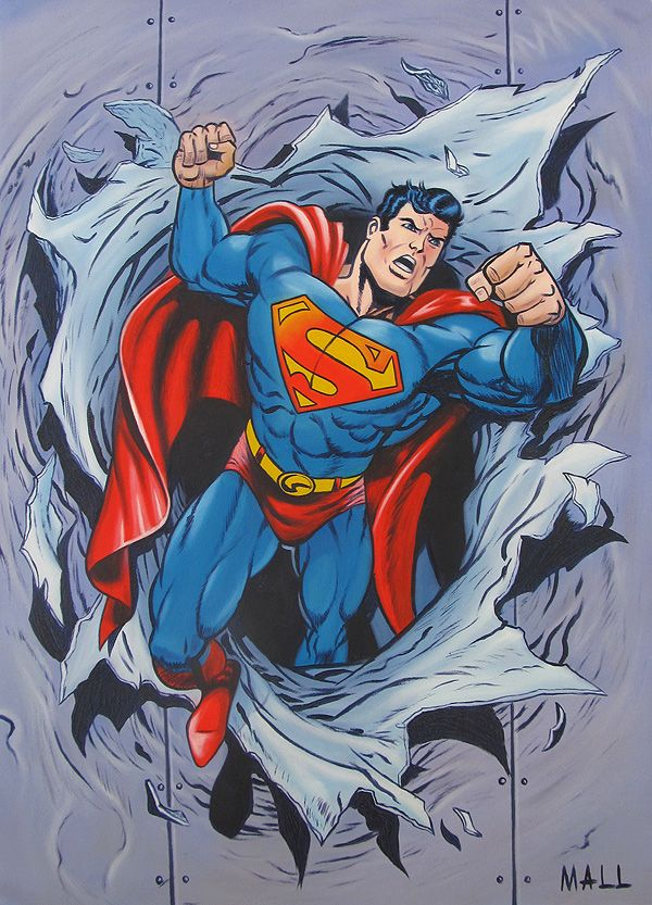 superman artwork | superman comic book art gallery