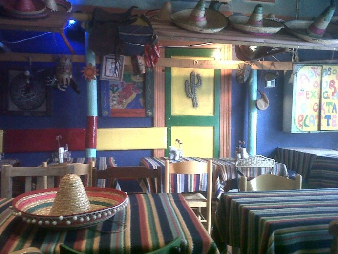 The Mexican Kitchen on Pepper Street (I think). #thumbsup