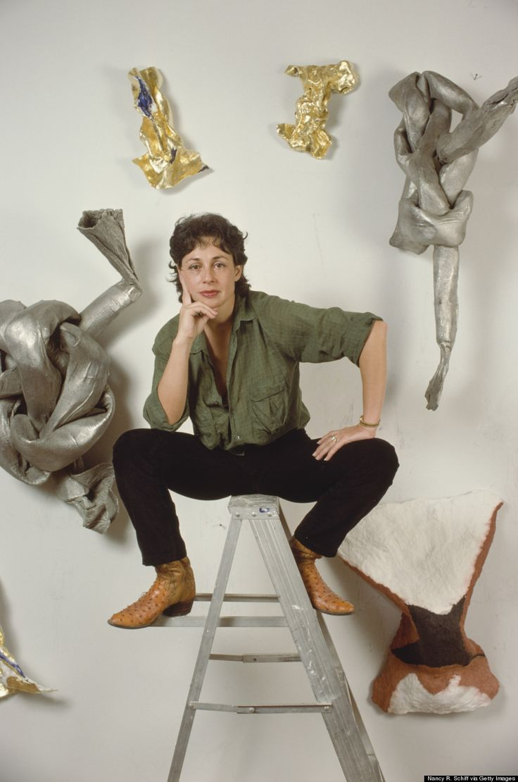 """lynda benglis,""""My work is an expression of space. What is the experience of moving? Is it pictorial? Is it an object? Is it a feeling? It all comes from my body. I am the clay; I have been extruded, in a sense. How to tie it together? I don't need to tie a knot. The forms of knots in my earlier work were expressive of this idea. I am the form."""""""