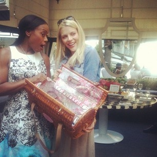 Fab designer Tracy Reese and actress Busy Phillips at our Chic Picnique launch event.: Tracy Reese, Design Tracy, Chic Picnique, Design Chic, Fab Design, Reese Design, Picniqu Baskets Ent, Ree Design, Actresses Business