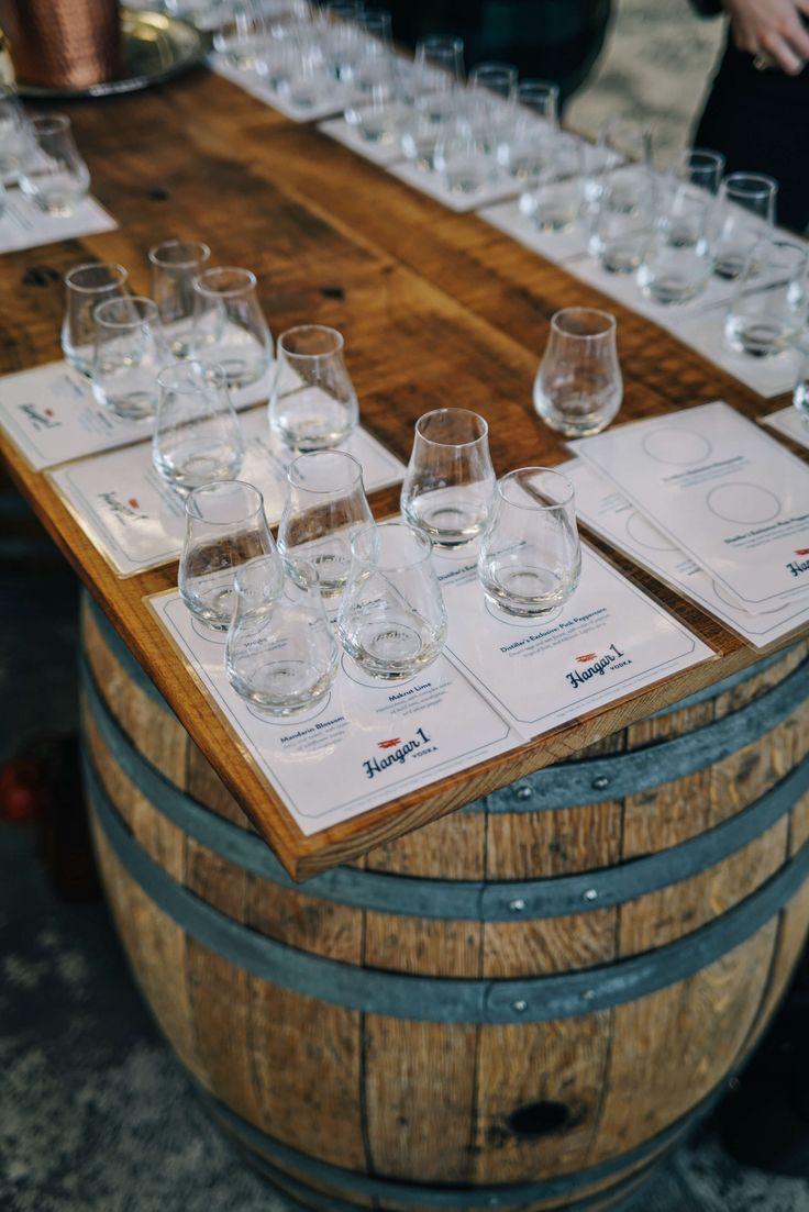 The Taste SF tasting at the tours and tastes at Hangar 1 Vodka Distillery in Alameda