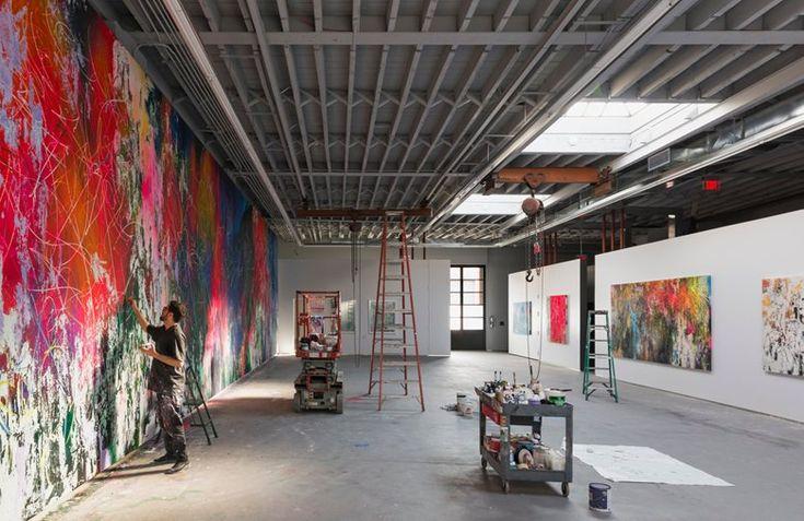José Parlá's Studio - Picture gallery