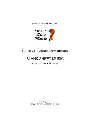 fillable blank sheet music