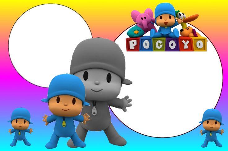 Invitaciones De Cumpleaños De Pocoyo - Hd Para Bajar Gratis 3  en HD Gratis
