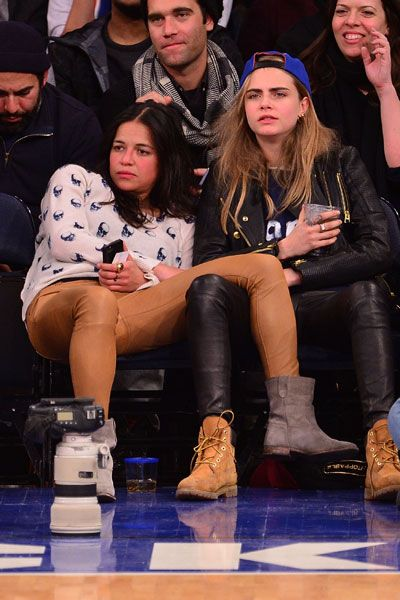 Cara Delevingne and Michelle Rodriguez Rumored to Star in Remake of Thelma and Louise - Marie Claire